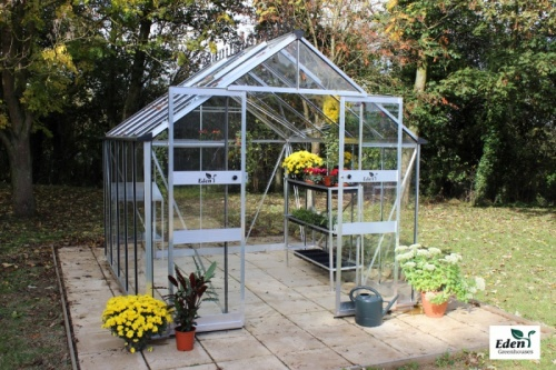Birdlip Zero Threshold Greenhouse (4 X 4)