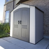 Lifetime 8 x 2.5 Plastic Shed