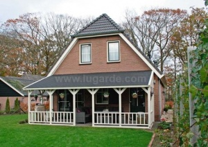 Lugarde Emma Lean-To Veranda AE25