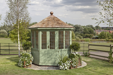 The Burghley Summerhouse 2 4m Andovergardenbuildings Co Uk