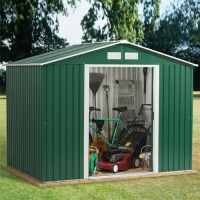 Emerald Rosedale 8x6 Metal Shed