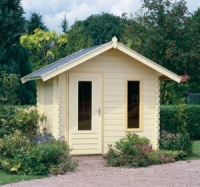 Lugarde Cornwall Log Cabin B2