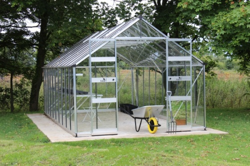 Blockley Zero Threshold Green House (8 X 14)