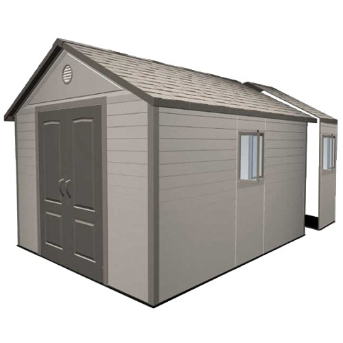 Lifetime 11x16 Heavy Duty Plastic Shed