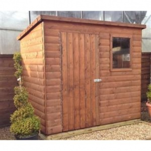 Heritage Standard Pent Shed 6 x 4