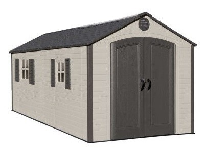 Lifetime 8ft x15ft (Special Edition) Heavy Duty Plastic Shed