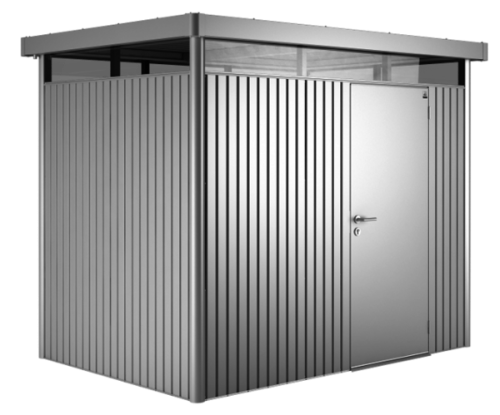 Biohort Heavy Duty Highline H2 Single Door Metal Shed