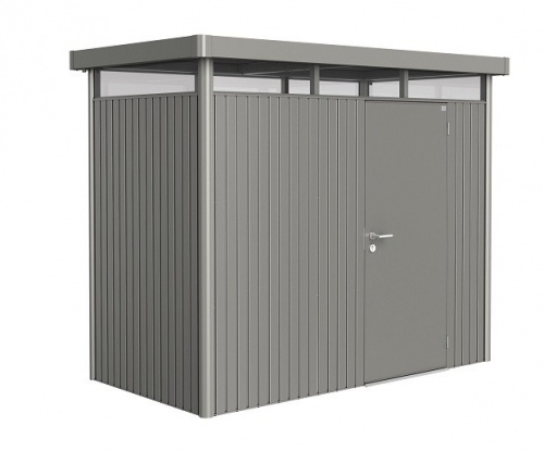 Biohort Heavy Duty Highline H1 Single Door Metal Shed