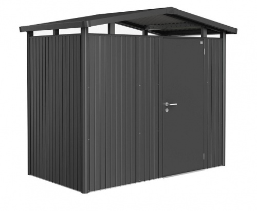 Biohort Heavy Duty Panorama P1 Single Door Metal Shed