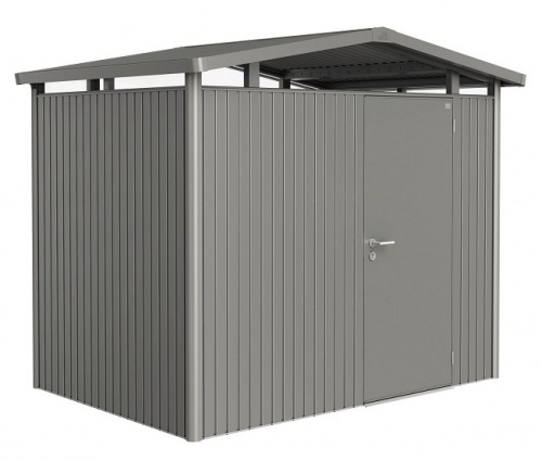 Biohort Heavy Duty Panorama P2 Single Door Metal Shed