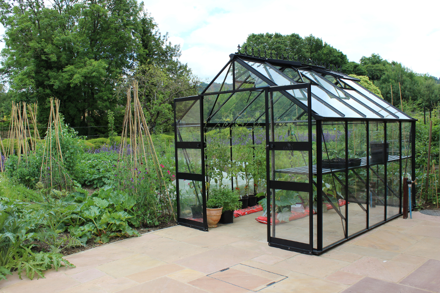 Blockley Zero Threshold Green House (8 X 10)