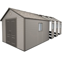 Lifetime 11x26 Heavy Duty Plastic Shed