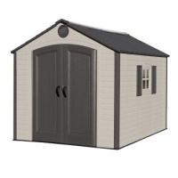 Lifetime 8ft x10ft (Special Edition) Heavy Duty Plastic Shed