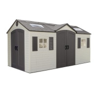 Lifetime 15x8 Dual Entrance Plastic Shed