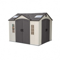 Lifetime 10x8 Dual Entrance Plastic Shed