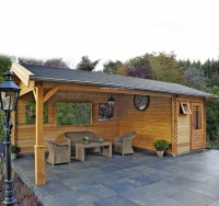 Lugarde Hannover Log Cabin B19