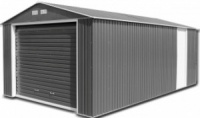 Olympian Anthracite 12x38 Metal Garage