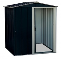 Sapphire 5x4 Metal Shed - Anthracite